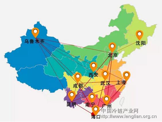 从新疆吐鲁番到海南岛,从云南红河州到内蒙古羊肉,从青岛海产品到