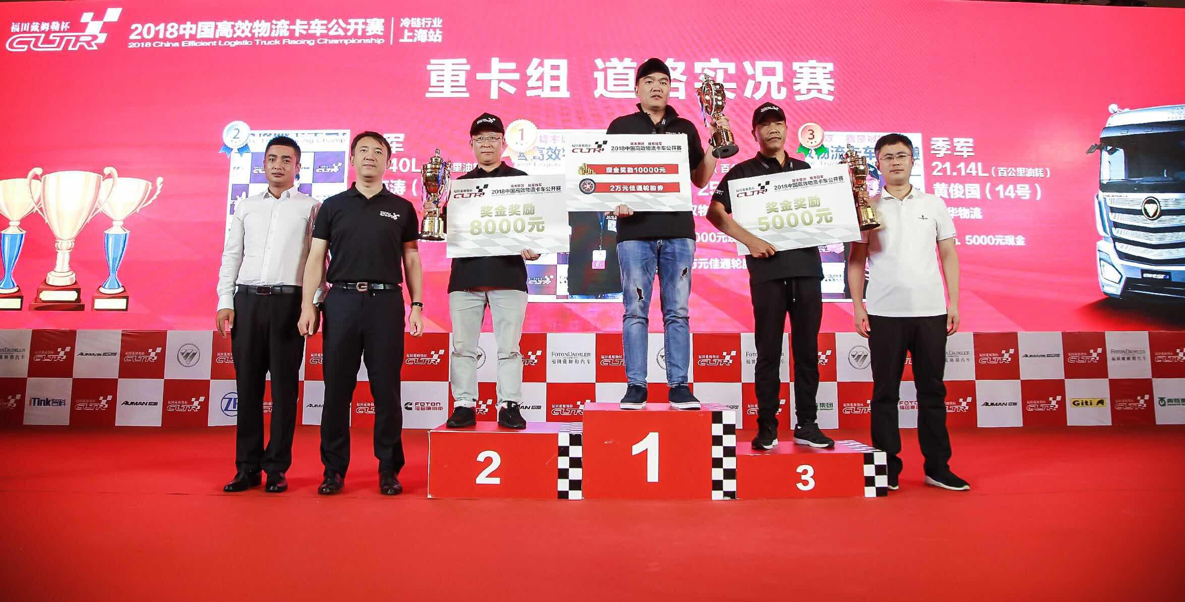 """2018中国高效冷链物流卡车公开赛暨""""冷链产业 数见未来""""论坛在上海举行"""